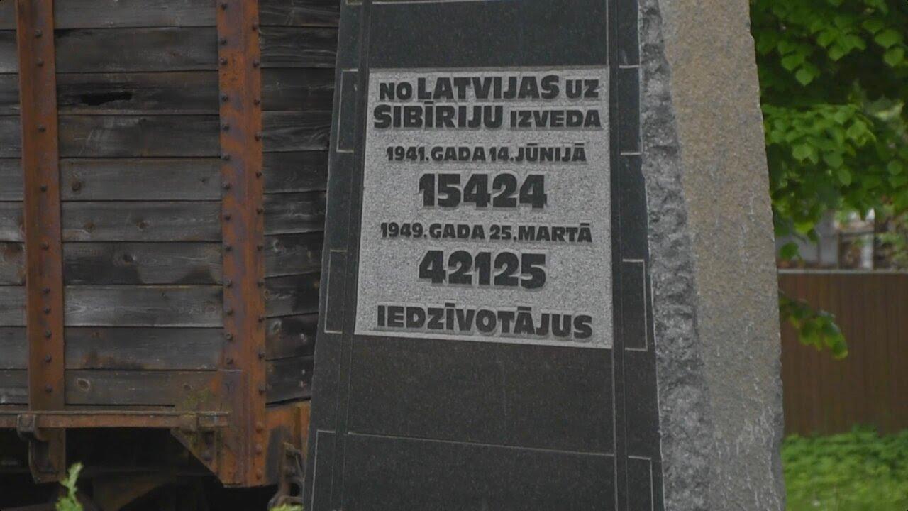 Pieminot Latvijas iedzīvotāju pirmās masu deportācijas 80. gadadienu, tapis īpašs dievkalpojums