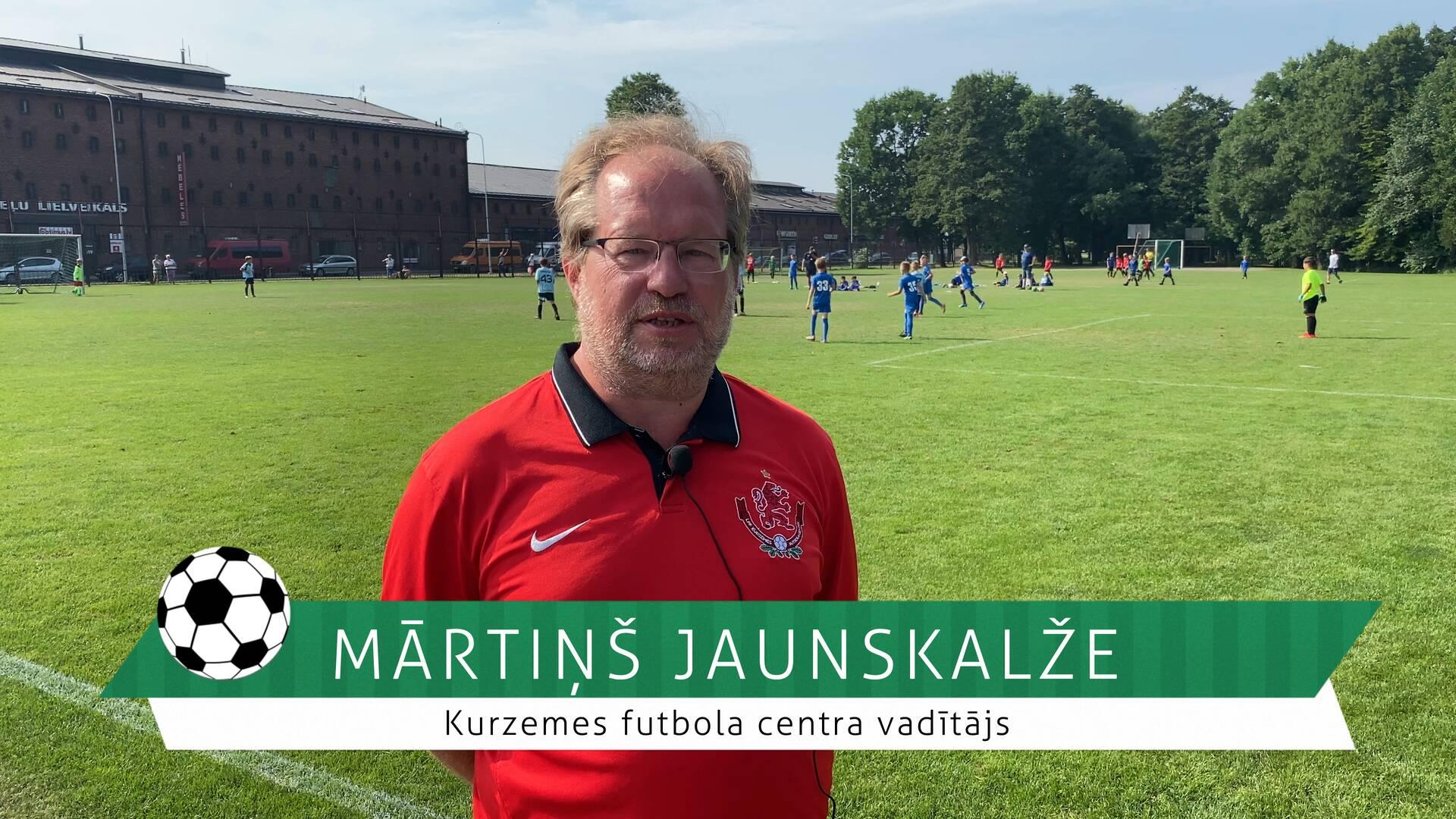 #FutbolsReģionos: saruna ar Kurzemes futbola centra vadītāju Mārtiņu Jaunskalži