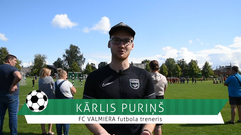 #FutbolsReģionos: saruna ar FC VALMIERA futbola treneri Kārli Puriņu