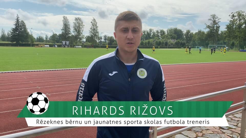 #FutbolsReģionos: saruna ar Rēzeknes bērnu un jauniešu sporta skolas futbola treneri Rihardu Rižovu