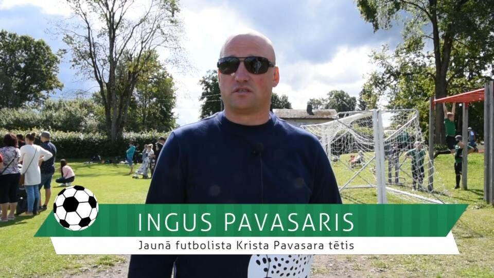 #FutbolsReģionos: FC GAUJA jaunā futbolista tētis Inguss Pavasars