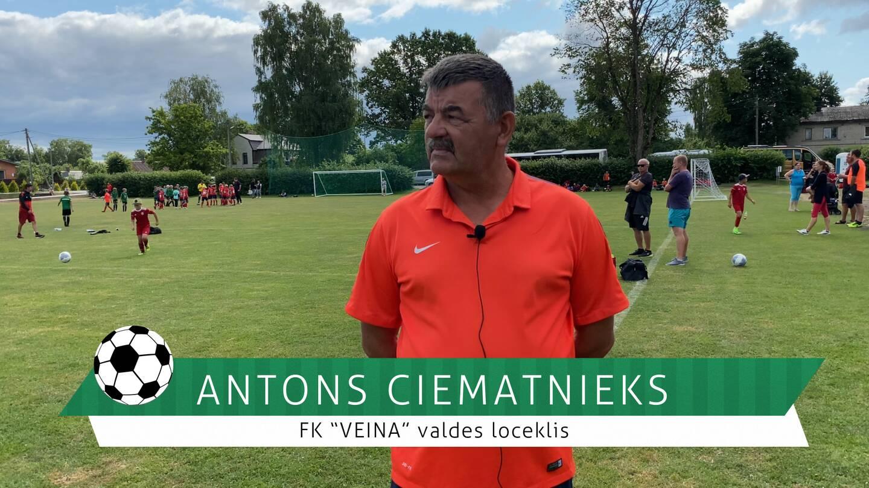 #FutbolsReģionos: saruna ar FK VEINA valdes locekli Antonu Ciematnieku