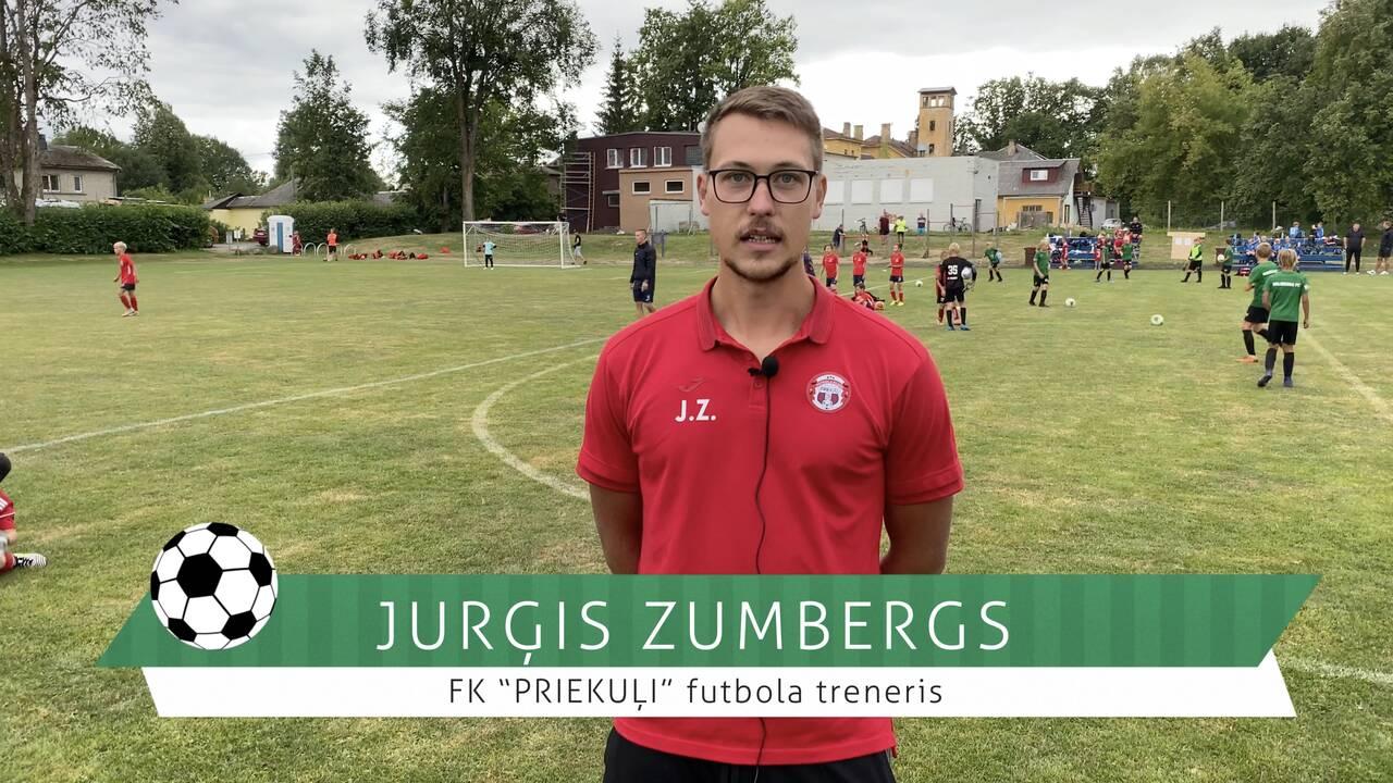 #FutbolsReģionos: saruna ar FK PRIEKUĻI treneri Jurģi Zumbergu
