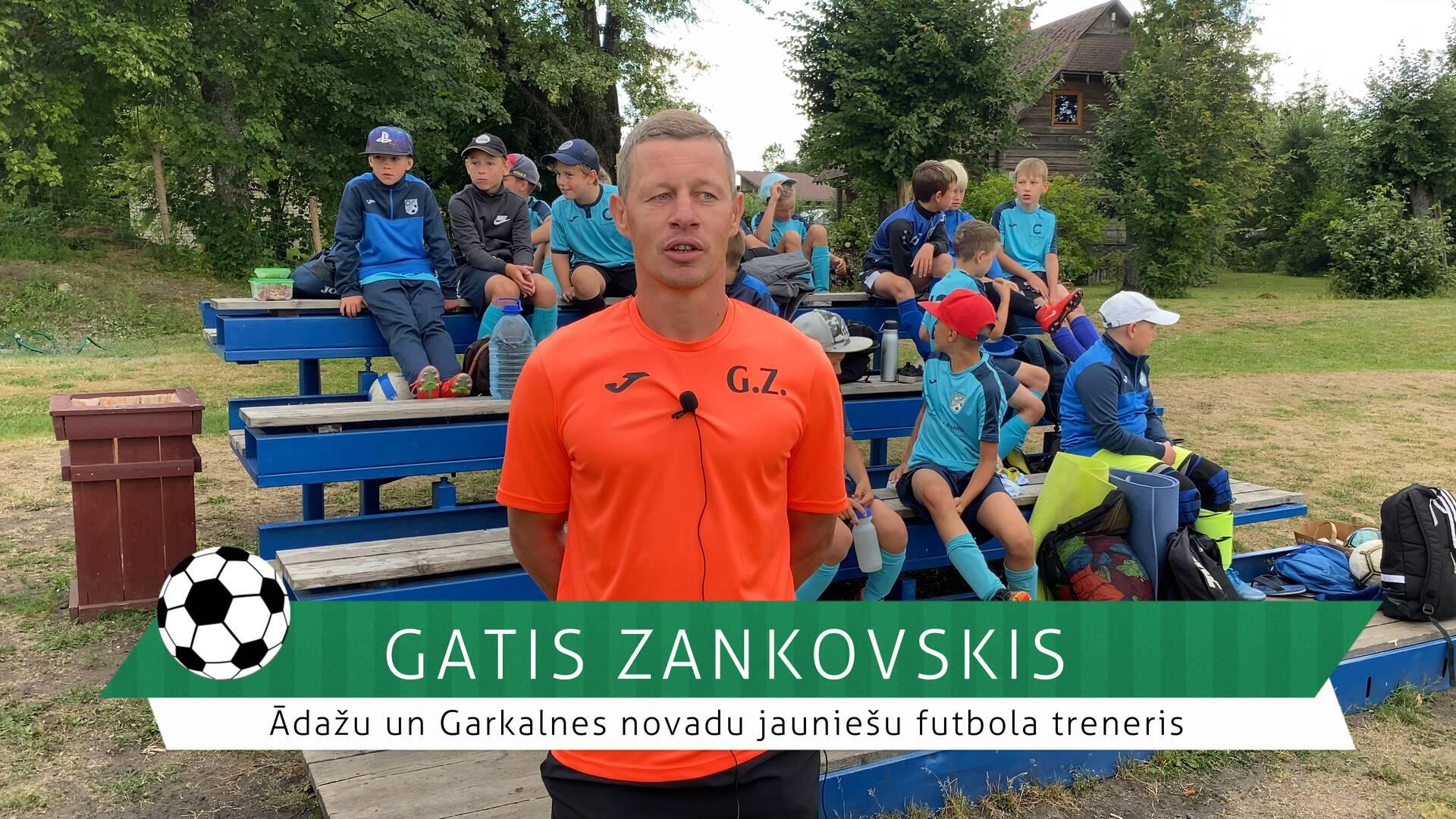 #FutbolsReģionos: saruna ar Garkalnes un Ādažu novadu futbola treneri Gati Zankovski (video)