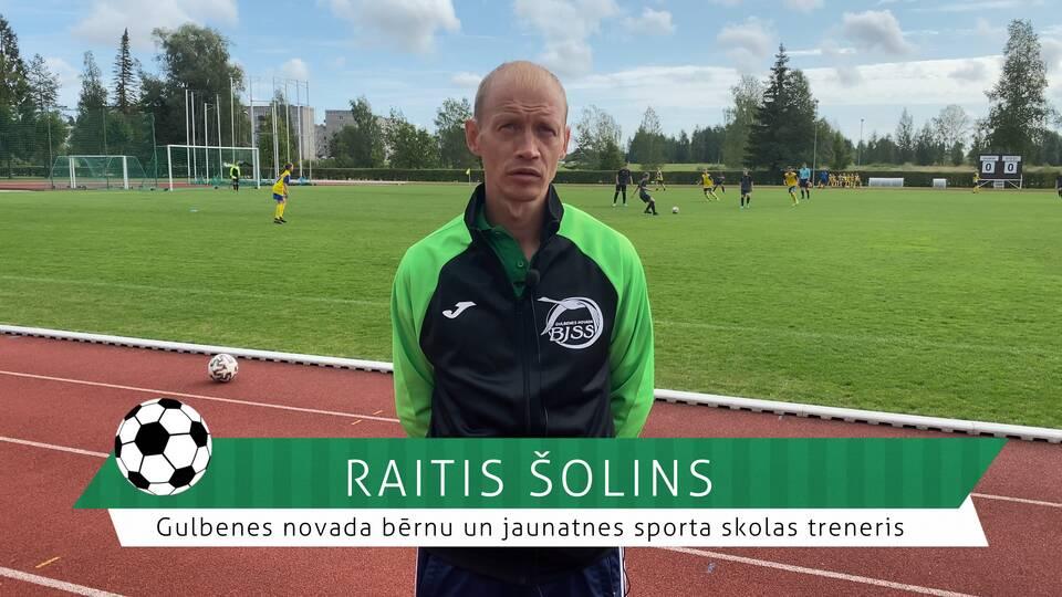 #FutbolsReģionos: saruna ar Gulbenes novada bērnu un jaunatnes sporta skolas futbola treneri Raiti Šolinu
