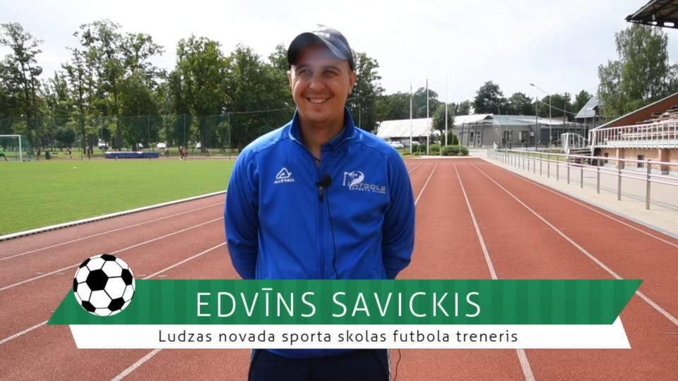 #FutbolsReģionos: saruna ar Ludzas novada sporta skolas futbola treneri Edvīnu Savicki