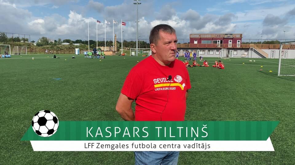 #FutbolsReģionos: saruna ar LFF Zemgales reģiona vadītāju Kasparu Tiltiņu