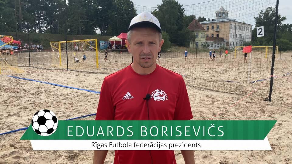 #FutbolsReģionos: saruna ar Rīgas Futbola federācijas prezidentu Eduardu Boriseviču