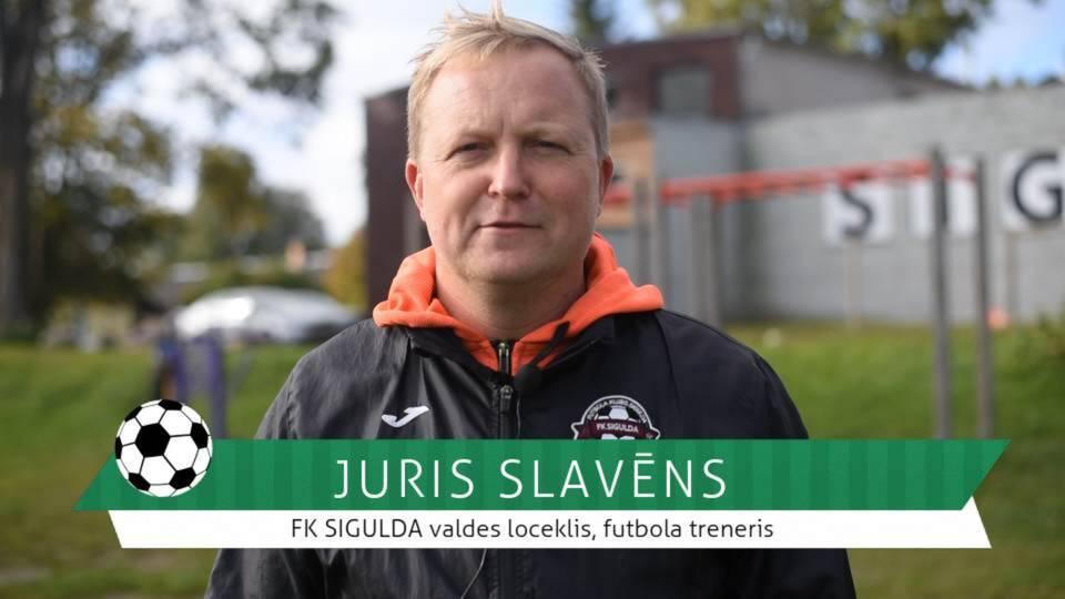 #FutbolsReģionos: saruna ar FK SIGULDA valdes locekli, futbola treneri Juri Slavēnu