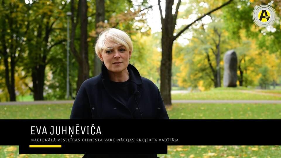 Arenanet.lv saruna ar Evu Juhņēviču: par šobrīd aktuālāko vakcinācijas pret Covid-19 norises organizēšanā